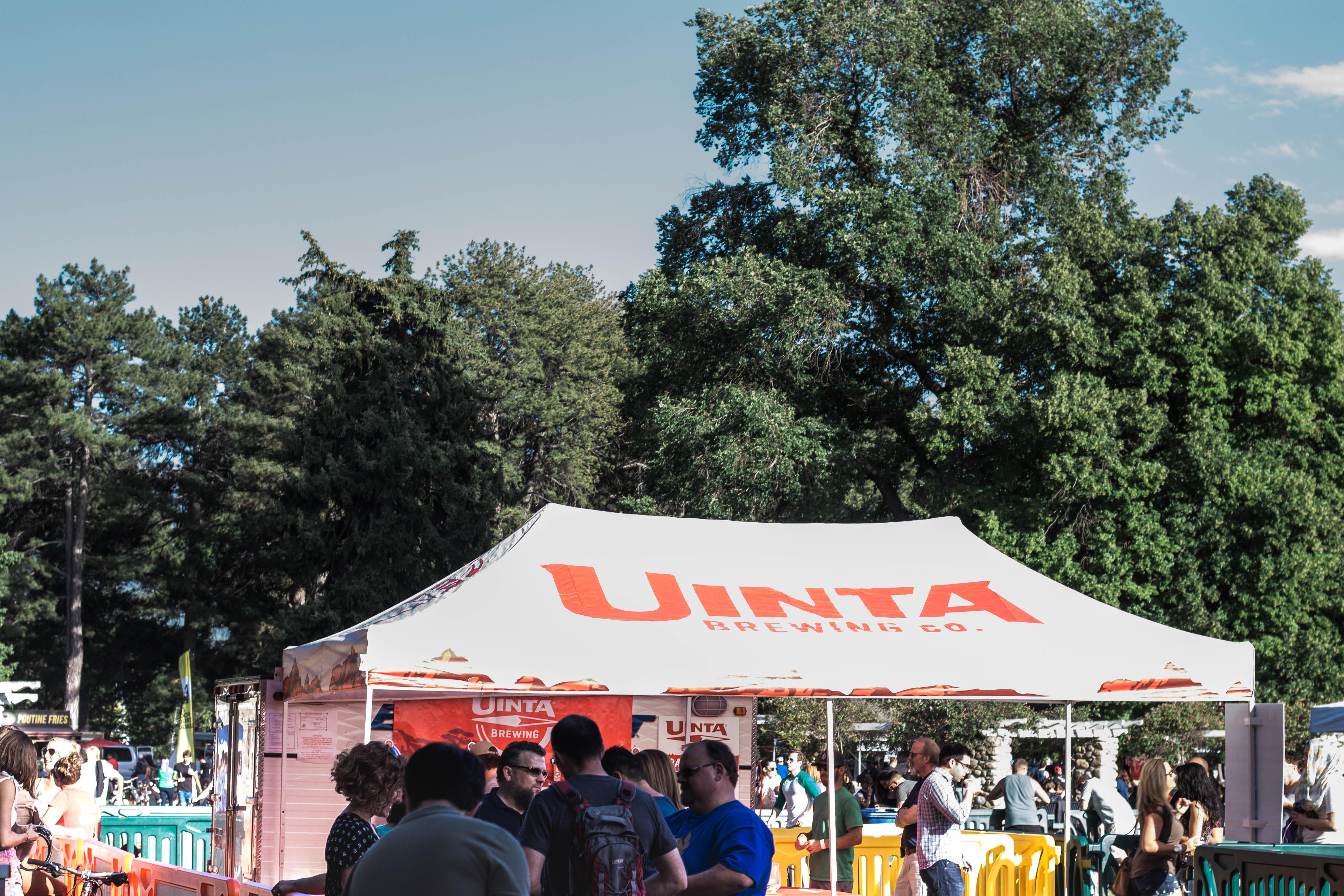 Utah food truck face off beer tent